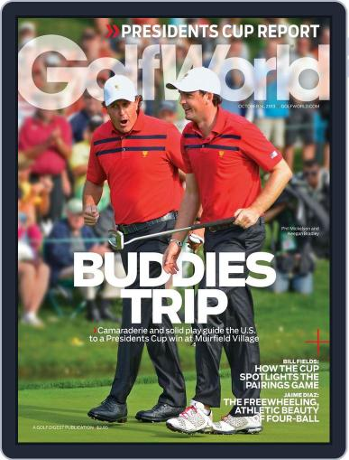 Golf World October 10th, 2013 Digital Back Issue Cover