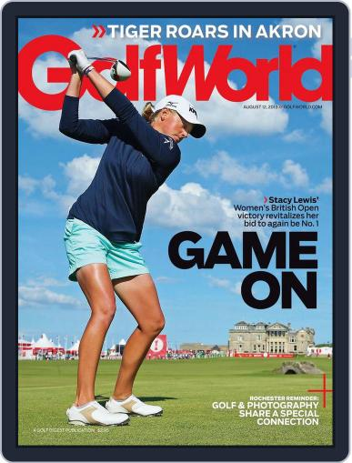 Golf World August 8th, 2013 Digital Back Issue Cover