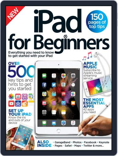 iPad for Beginners United Kingdom April 1st, 2016 Digital Back Issue Cover