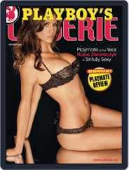 Playboy's Lingerie (Digital) Subscription August 25th, 2010 Issue