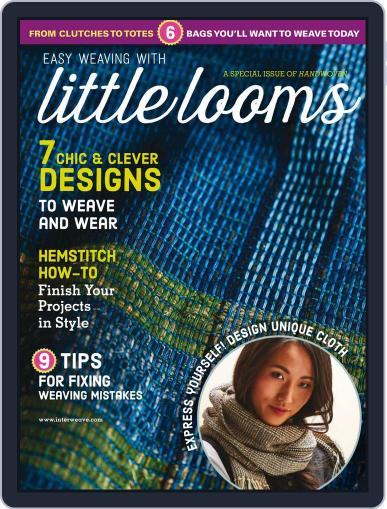 Easy Weaving with Little Looms April 4th, 2018 Digital Back Issue Cover