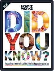 How It Works Book of Did You Know? Magazine (Digital) Subscription October 14th, 2015 Issue