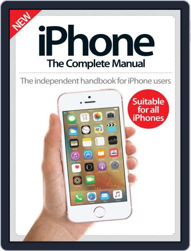 iPhone: The Complete Manual (A5) July 6th, 2016 Digital Back Issue Cover