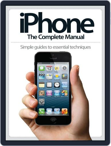 iPhone: The Complete Manual (A5) July 17th, 2013 Digital Back Issue Cover