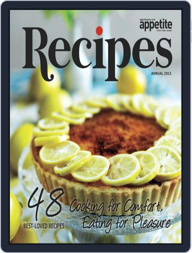 Recipe Book September 13th, 2012 Digital Back Issue Cover
