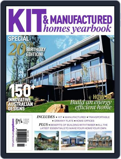 Kit Homes Yearbook January 27th, 2014 Digital Back Issue Cover