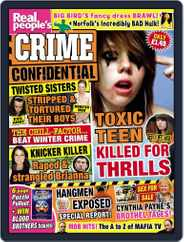 Real People's Crime Confidential Magazine (Digital) Subscription December 31st, 2014 Issue