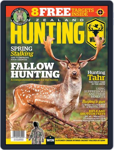 Nz Hunting World September 18th, 2014 Digital Back Issue Cover