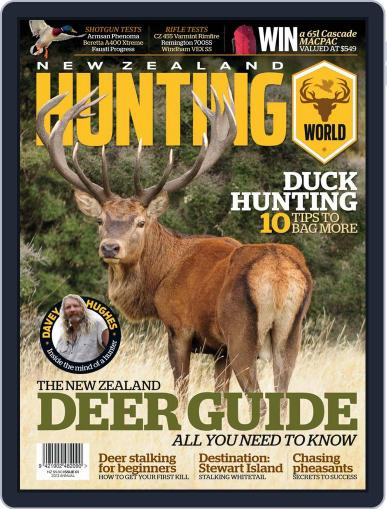 Nz Hunting World March 13th, 2013 Digital Back Issue Cover