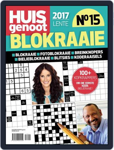 Huisgenoot Blokraai August 17th, 2017 Digital Back Issue Cover