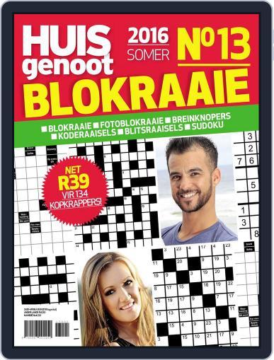 Huisgenoot Blokraai November 1st, 2016 Digital Back Issue Cover