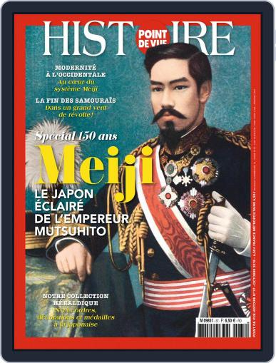 Point de Vue Histoire October 1st, 2018 Digital Back Issue Cover