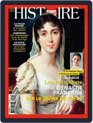 Point de Vue Histoire December 1st, 2017 Digital Back Issue Cover