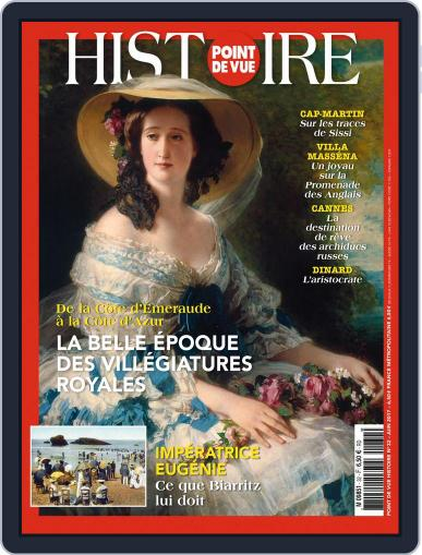 Point de Vue Histoire June 1st, 2017 Digital Back Issue Cover