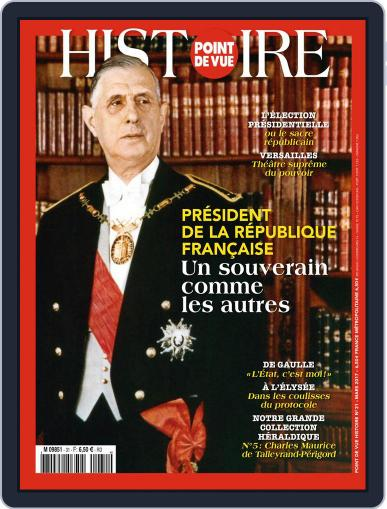 Point de Vue Histoire March 1st, 2017 Digital Back Issue Cover