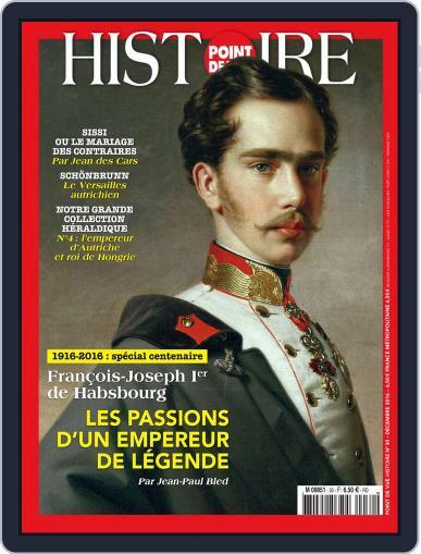 Point de Vue Histoire December 1st, 2016 Digital Back Issue Cover