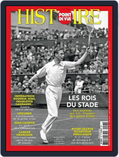 Point de Vue Histoire June 5th, 2016 Digital Back Issue Cover