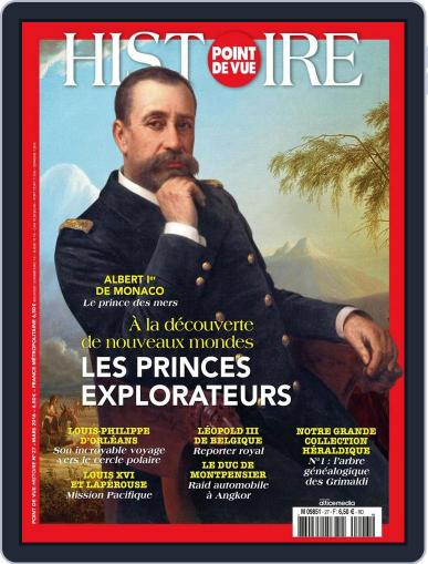 Point de Vue Histoire March 5th, 2016 Digital Back Issue Cover