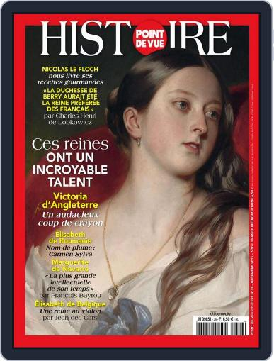 Point de Vue Histoire December 10th, 2015 Digital Back Issue Cover