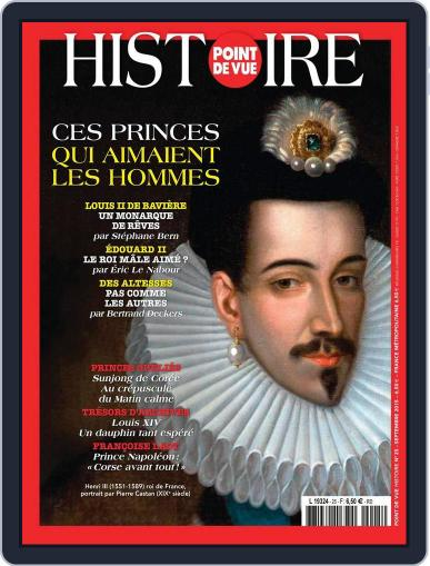 Point de Vue Histoire September 24th, 2015 Digital Back Issue Cover