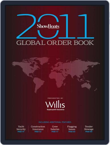 The Show Boats International Global Order Book December 6th, 2010 Digital Back Issue Cover