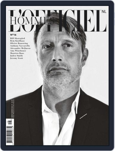L'officiel Hommes Nl November 23rd, 2018 Digital Back Issue Cover