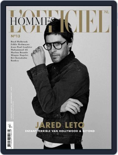 L'officiel Hommes Nl October 9th, 2018 Digital Back Issue Cover