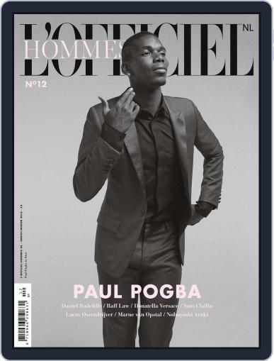L'officiel Hommes Nl October 1st, 2016 Digital Back Issue Cover