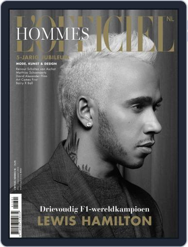 L'officiel Hommes Nl March 1st, 2016 Digital Back Issue Cover