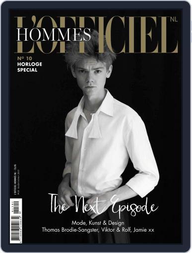 L'officiel Hommes Nl October 21st, 2015 Digital Back Issue Cover