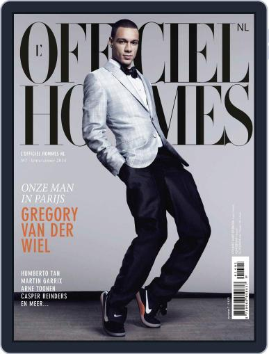 L'officiel Hommes Nl March 20th, 2014 Digital Back Issue Cover