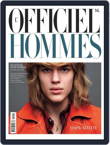 L'officiel Hommes Nl March 14th, 2012 Digital Back Issue Cover