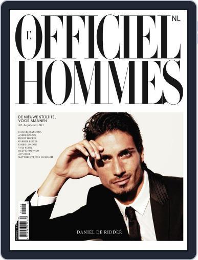 L'officiel Hommes Nl October 28th, 2011 Digital Back Issue Cover