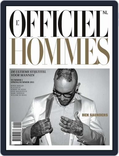 L'officiel Hommes Nl March 15th, 2011 Digital Back Issue Cover