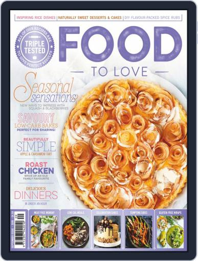 Food To Love September 1st, 2019 Digital Back Issue Cover
