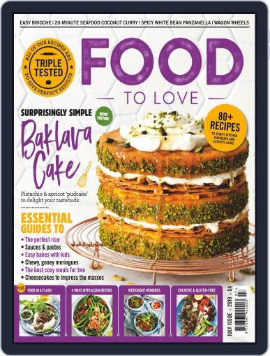 Food To Love July 1st, 2019 Digital Back Issue Cover