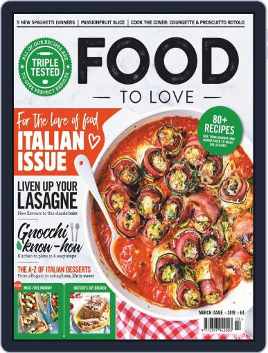 Food To Love March 1st, 2019 Digital Back Issue Cover
