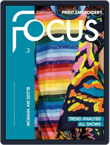 FASHION FOCUS WOMAN PRINT.EMBROIDERY October 1st, 2017 Digital Back Issue Cover