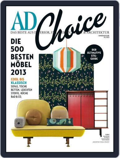 AD Choice Deutschland May 25th, 2013 Digital Back Issue Cover