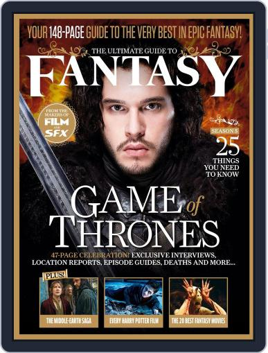 The Ultimate Guide to Fantasy April 11th, 2015 Digital Back Issue Cover