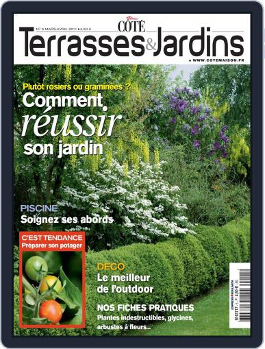 Côté Terrasses et Jardins March 22nd, 2011 Digital Back Issue Cover