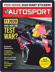 Autosport (Digital) Subscription March 5th, 2020 Issue