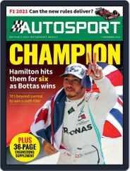 Autosport (Digital) Subscription November 7th, 2019 Issue