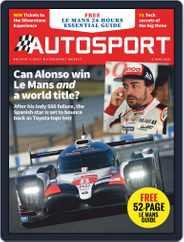 Autosport (Digital) Subscription June 6th, 2019 Issue