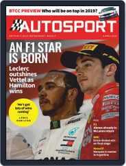 Autosport (Digital) Subscription April 4th, 2019 Issue