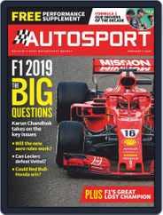 Autosport (Digital) Subscription February 1st, 2019 Issue