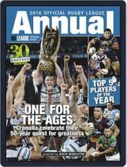 Official Rugby League Annual Magazine (Digital) Subscription December 1st, 2016 Issue