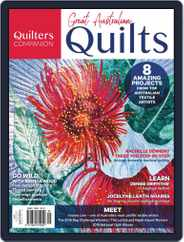Great Australian Quilts Magazine (Digital) Subscription October 3rd, 2018 Issue