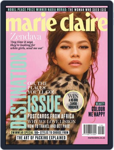 Marie Claire South Africa November 1st, 2018 Digital Back Issue Cover