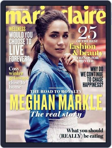 Marie Claire South Africa May 1st, 2018 Digital Back Issue Cover